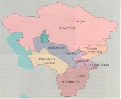 Государства центральной азии